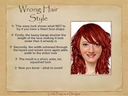 hairstyles for fat heart shaped faces hair styles that flatter your face shape