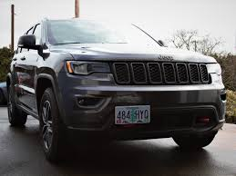 jeep grand cherokee trailhawk grey the platypus pro series license plate mount for jeep cravenspeed com