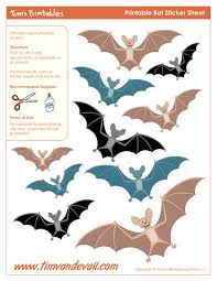 Halloween Bats To Color by Free Printable U2013 Easy Printables