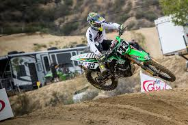 first motocross race josh grant come out swinging transworld motocross