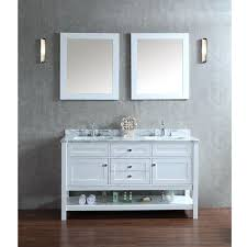 Kensington 60 Vanity Ariel Bath Scmay60swh Mayfield 60 Double Sink Bathroom Vanity Set