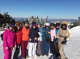 dana freeman travels women on snow ski camp at stratton mountain