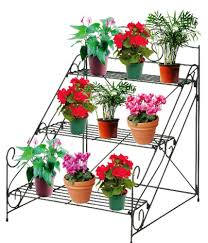 Wooden Patio Plant Stands by Plant Stand Surprising Outdoor Flower Pot Stands Photo Ideas