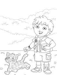 epic diego coloring pages 23 on line drawings with diego coloring