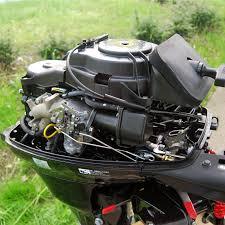 tohatsu 4 stroke 20hp efi outboard motor tiller handle seamax