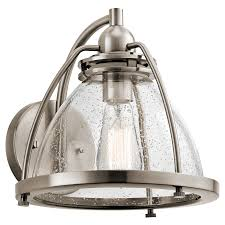 Pewter Sconces Silberne 1 Light Wall Sconce In Classic Pewter