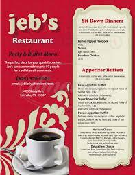 100 cocktail party menu for 50 jeb u0027s restaurant menu