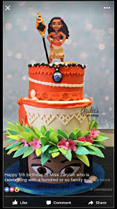 114 best disney u0027s moana cakes images on pinterest birthday cakes