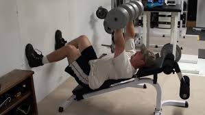 Top Bench Press Chest Exercise Tip Incline Dumbbell Bench Press With Feet On Wall