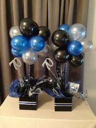 balloon topiary centerpieces for men search 30th