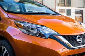 nissan orange refreshed 2017 nissan versa note revealed debuts in l a motor