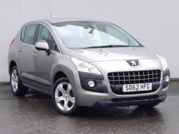 peugeot 3007 for sale used 2012 62 peugeot 3008 1 6 hdi 112 active ii 5dr in kirkcaldy