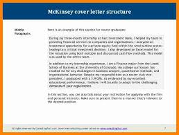 management consulting cover letter mckinsey