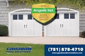 Overhead Door Rockland Ma Goodrow Garage Doors Makes Best Of Angieslist