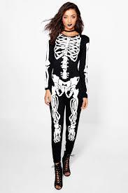 womens skeleton jumpsuit skeleton jumpsuit boohoo