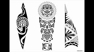 maori polynesian hawaiian tribal style tattoo designs 4