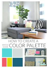 color palette for home interiors color palette interior design modern interior paint colors and