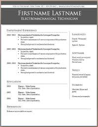 microsoft word resume templates questionnaire template
