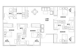 university floor plan floor plans university walk charlotte student housing