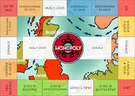 Monopoly Map Play Viking Monopoly At Home 5p