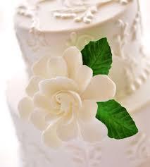 b cake topper clay gardenia flower cake topper wedding decor cake food dk