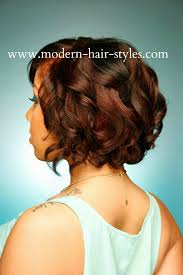 27 layer short black hairstyles black short hairstyles bob roller set spiral curls wash styled