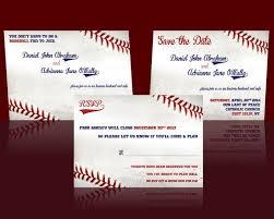 baseball wedding invitations 23 best wedding invitations images on sports wedding