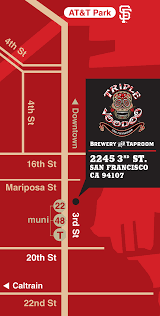 Seattle Brewery Map by Triple Voodoo Brewery San Francisco Home