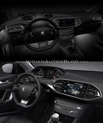 peugeot 2008 interior 2017 2017 peugeot 308 vs 2013 peugeot 308 old vs new