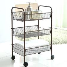 Bathroom Storage Cart Rolling Bathroom Storage Best Rolling Bath Cart Simple Rolling