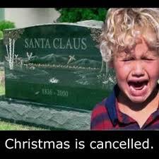 Xmas Memes - christmas cancellation announcement know your meme