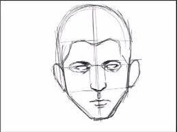 تعلم رسم بورترية حقيقى sketching a face basic proportions youtube
