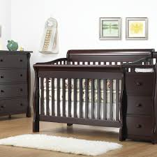 sorelle tuscany collection 2 piece nursery set in espresso 4 1