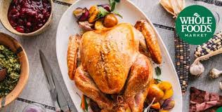 win thanksgiving dinner from the morning and whole foods