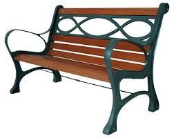 panchine legno panchina pesante legno ghisa houston cm 131x65x71 cod 93864