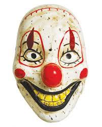 creepy mask creepy clown doll mask horrorclown half mask horror shop