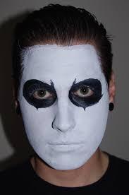 black face makeup black gold makeup model closeup face face