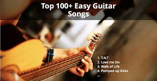 top 100 easy guitar songs best list for beginners and
