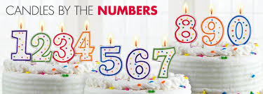 number birthday candles number candles party city