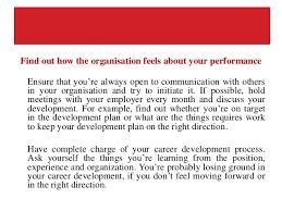 career development plans create a career development plan that suits your career goals