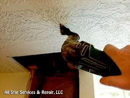 Repair Ceiling Hole by How To Repair A Textured Ceiling With Photos