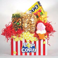 popcorn baskets popcorn gift basket loaded gourmet snacks and