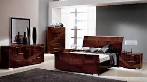 Italian Modern Bedroom Furniture Modern Italian Lacquer Bed