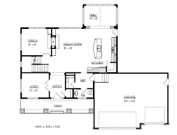 traditional house floor plans sante park craftsman home plan 072d 1118 house plans and more