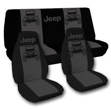 charcoal black jeep 2014 jeep wrangler sport black and charcoal jeep seat covers