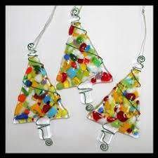 white iridized snowflake fused glass ornament suncatcher