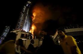 lexus hotel dubai breaking news u003e u003eblaze engulfs dubai tower mustang forum