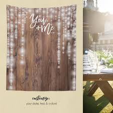 wedding backdrop rustic woodland wedding rustic wood backdrop custom tapestry dessert