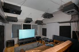 Hanging Ceiling Speakers by Goldenear Ultimate Invisa Lifestyle Atmos System Experience Avs