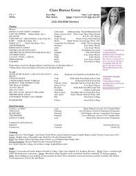 free acting resume template free acting resume template with photo resume exles
